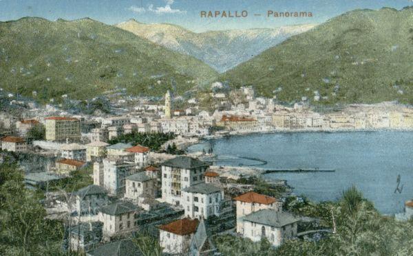 Rapalo (Rapallo). 1929 m., Italija.