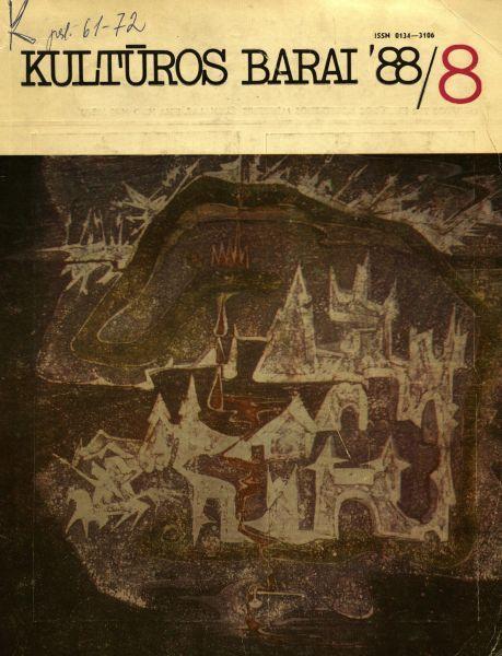 """Jansonas E. """"Nemaža įdomių vaidmenų pateikė """"Golgota""""..."""": [apie J. Budraičio vaidmenį spektaklyje """"Golgota""""] // Kultūros barai. 1988, nr. 8, p. 17–18."""