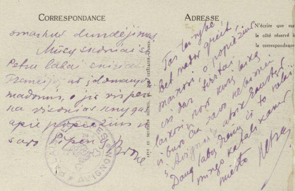 Vilniov m. (Villeneuve). Prancūzija.