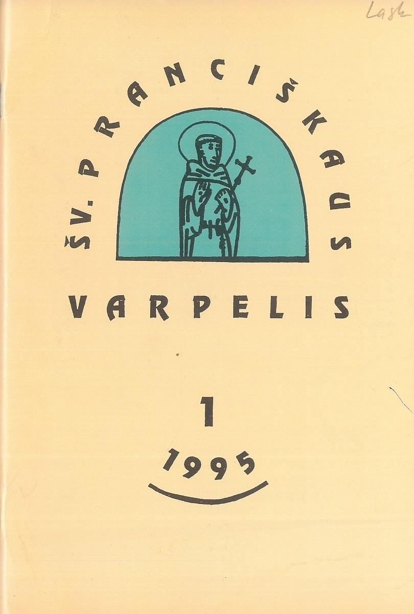 Šv. Pranciškaus varpelis, 1995 m., Nr. 1