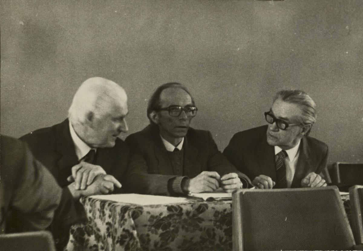 J. Stasiūnas, J. Aleksa, R. Geniušas