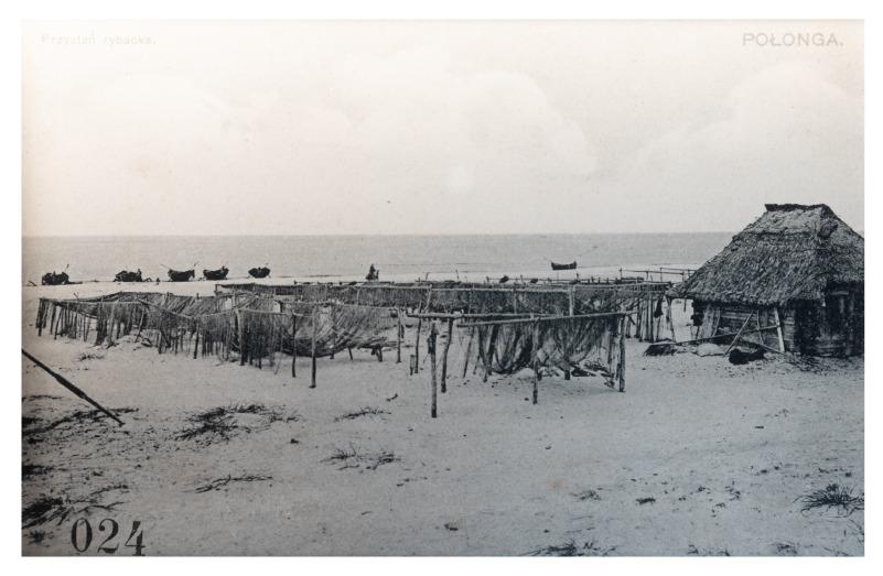 Žvejų uostas, apie 1907 m.