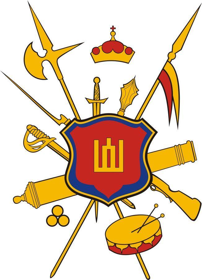 Vytauto Didžiojo karo muziejaus logotipas.