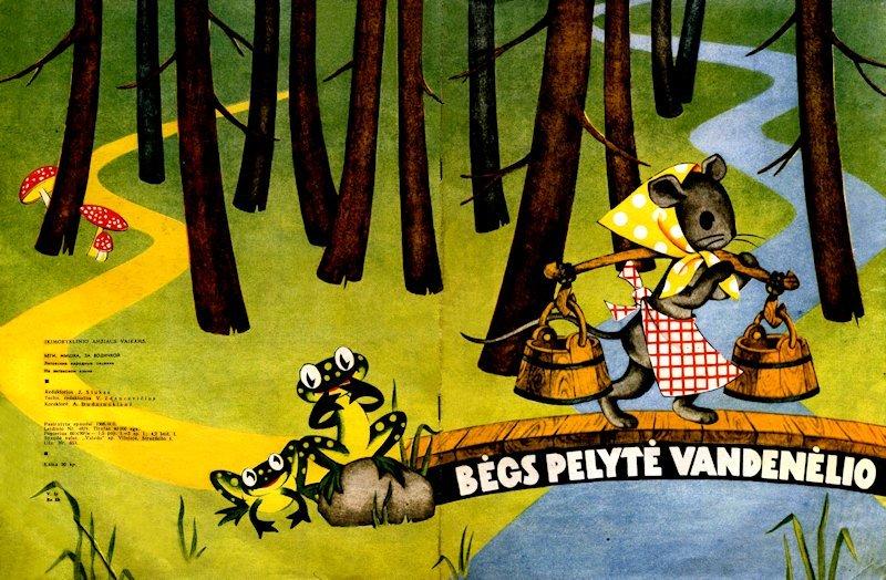 Bėgs pelytė vandenėlio : lietuvių liaudies dainelės. Vilnius : Vaga, 1966. 21  p.