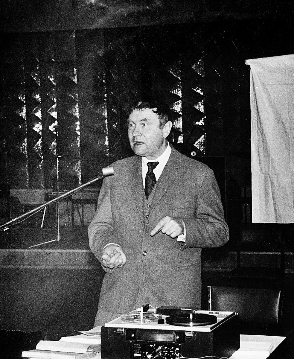 Juliaus Juzeliūno vieša paskaita apie Nigeriją, 1973 m.