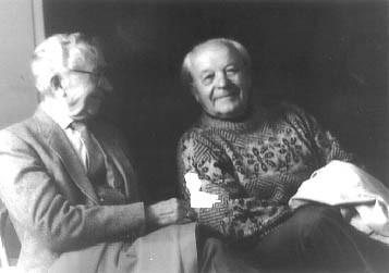 Bernardas Brazdžionis ir Jurgis Jankus