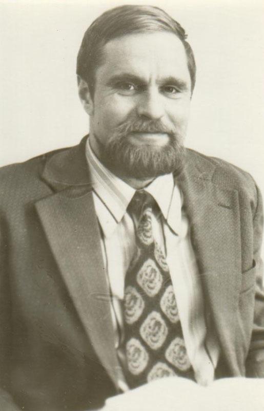 Bronius Radzevičius darbo Kultūros ministerijoje metu. Apie 1978 m., Vilnius.