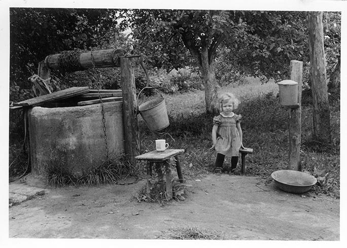 Mekų tėviškės fragmentas. Semeniškiai, 1971 m.