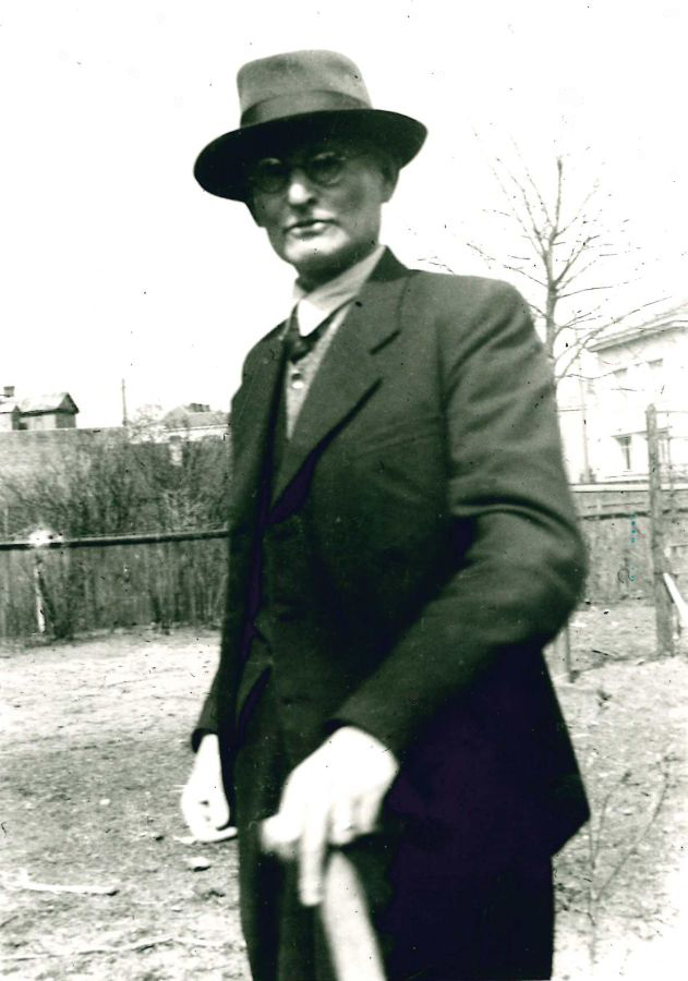 K. Grinius. 1944 m.