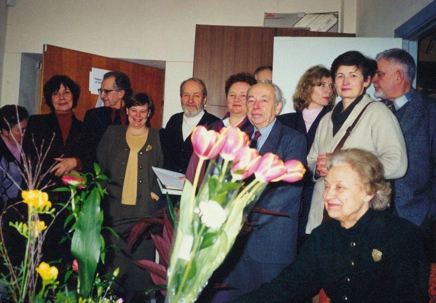 Lituanistikos fakulteto šventinis renginys. Apie 2000 m.
