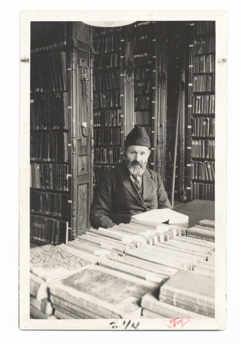 Strašuno bibliotekos fondų saugotojas Chaiklas Lunskis (1881-1943)