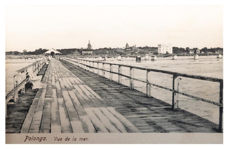Jūros vaizdas, Palanga, apie 1905 m.