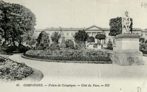 Kompjegnė m. (Compiègne). 1928 m.,  Prancūzija.