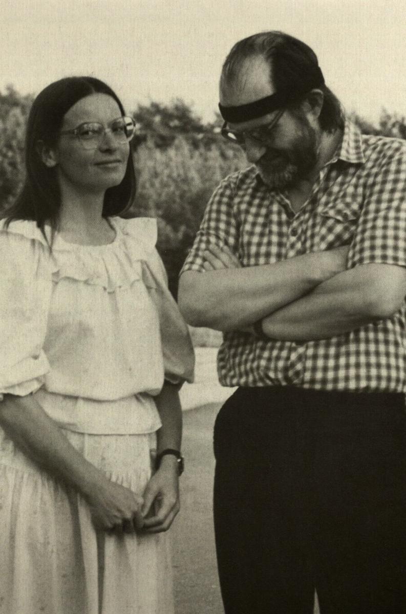 N. Miliauskaitė ir V.P. Bložė. 1985.