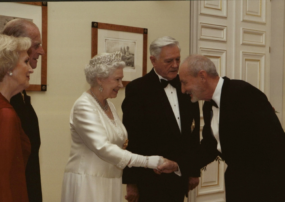 Jungtinės Karalystės Karalienės Elžbietos II vizitas Lietuvoje 2006 m. spalio 17 d. Vilnius.