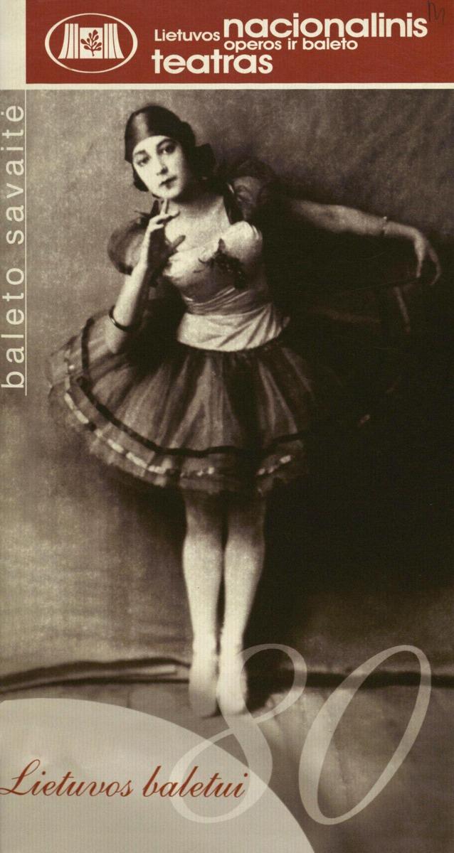 Lietuvos baletui 80 : baleto savaitė