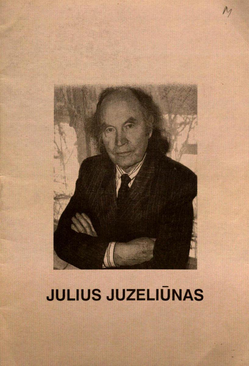 Julius Juzeliūnas : [bukletas kompozitoriaus 80-mečiui]