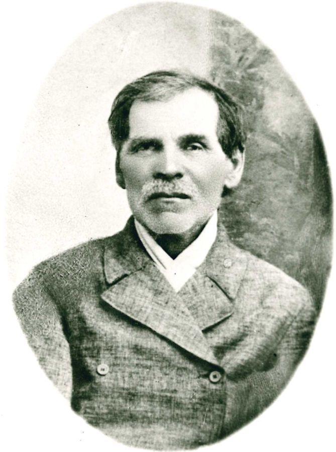 K. Griniaus tėtis Vincas Grinius (1837–1915). 1890 m.