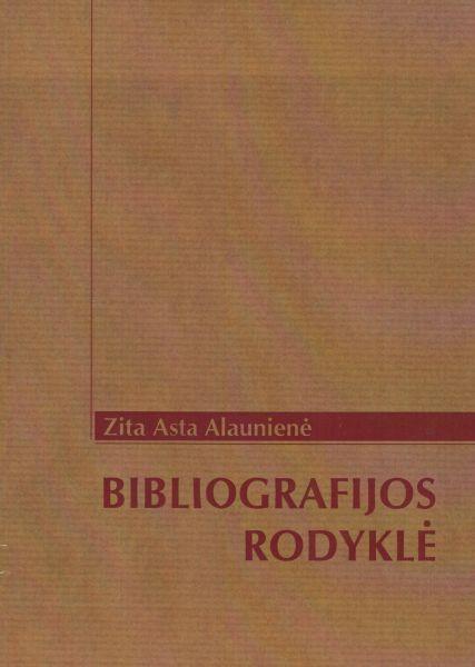 Zita Asta Alaunienė. Bibliografijos rodyklė.