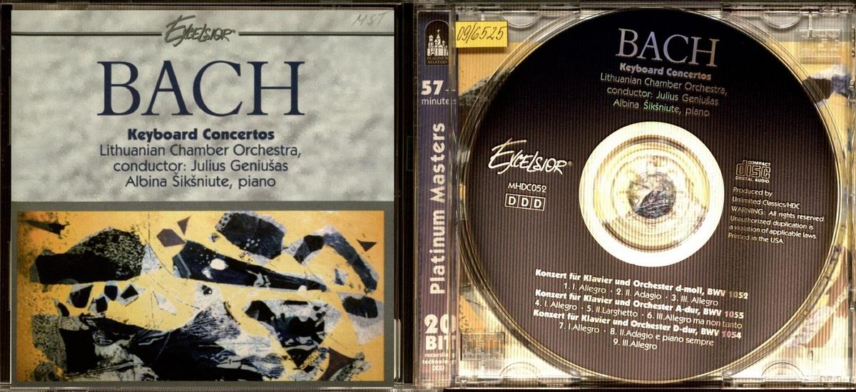 Keyboard concertos [Garso įrašas]
