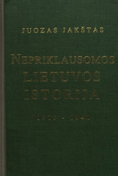 Nepriklausomos Lietuvos istorija, 1918–1940.