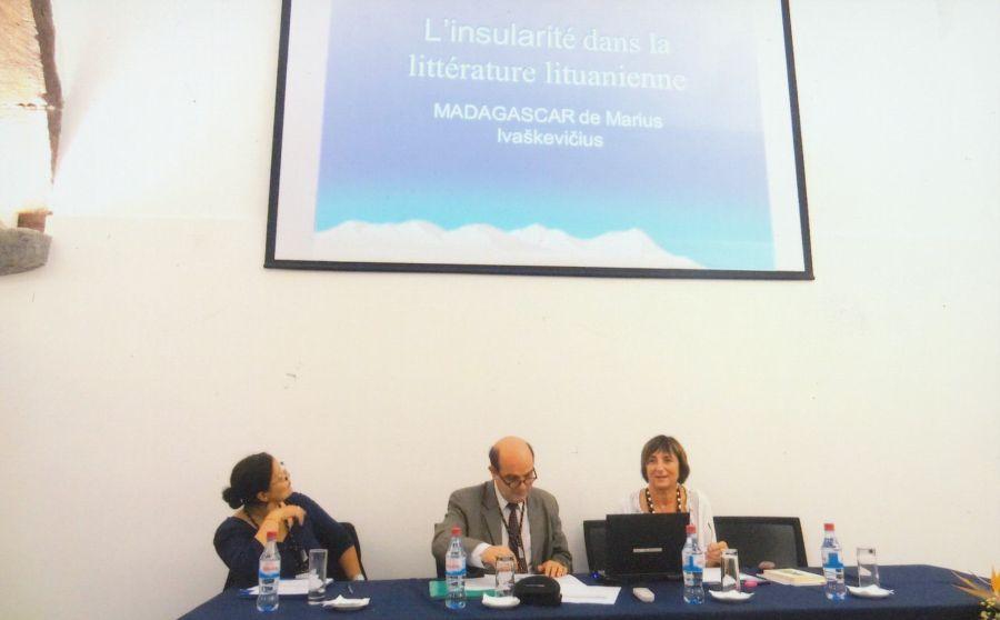 """Europos lyginamųjų literatūros studijų tinklo kongresas """"Salos ir kontinentai"""" Madeiroje (Portugalija). 2013 m."""