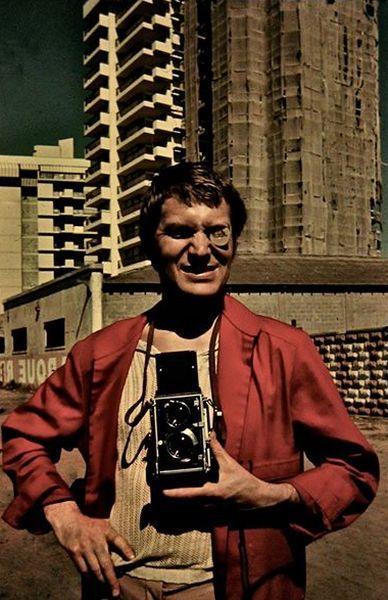 """Santjage (Čilė), filmuojantis kino juostoje """"Tas saldus žodis – laisvė!"""". 1973 m."""