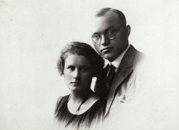 Petras ir Bronė Klimai.