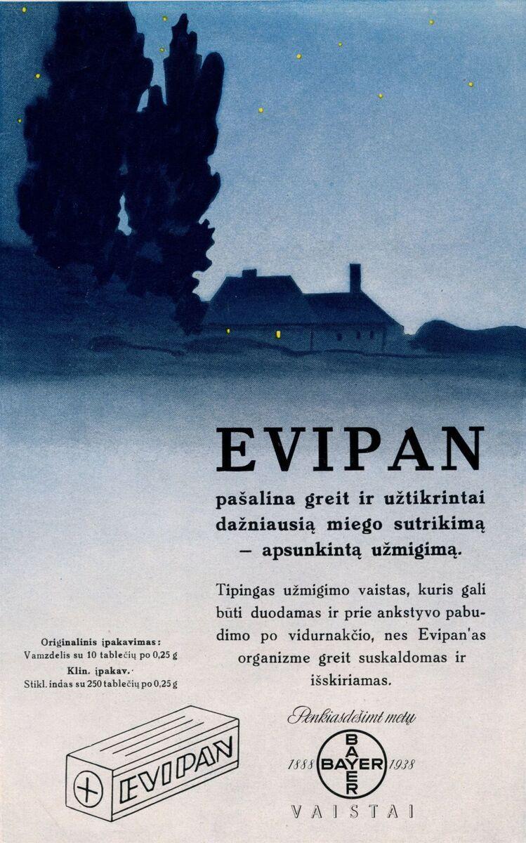 """""""Epivan: pašalina greit ir užtikrintai dažniausią miego sutrikimą ‒ apsunkintą užmigimą..."""""""