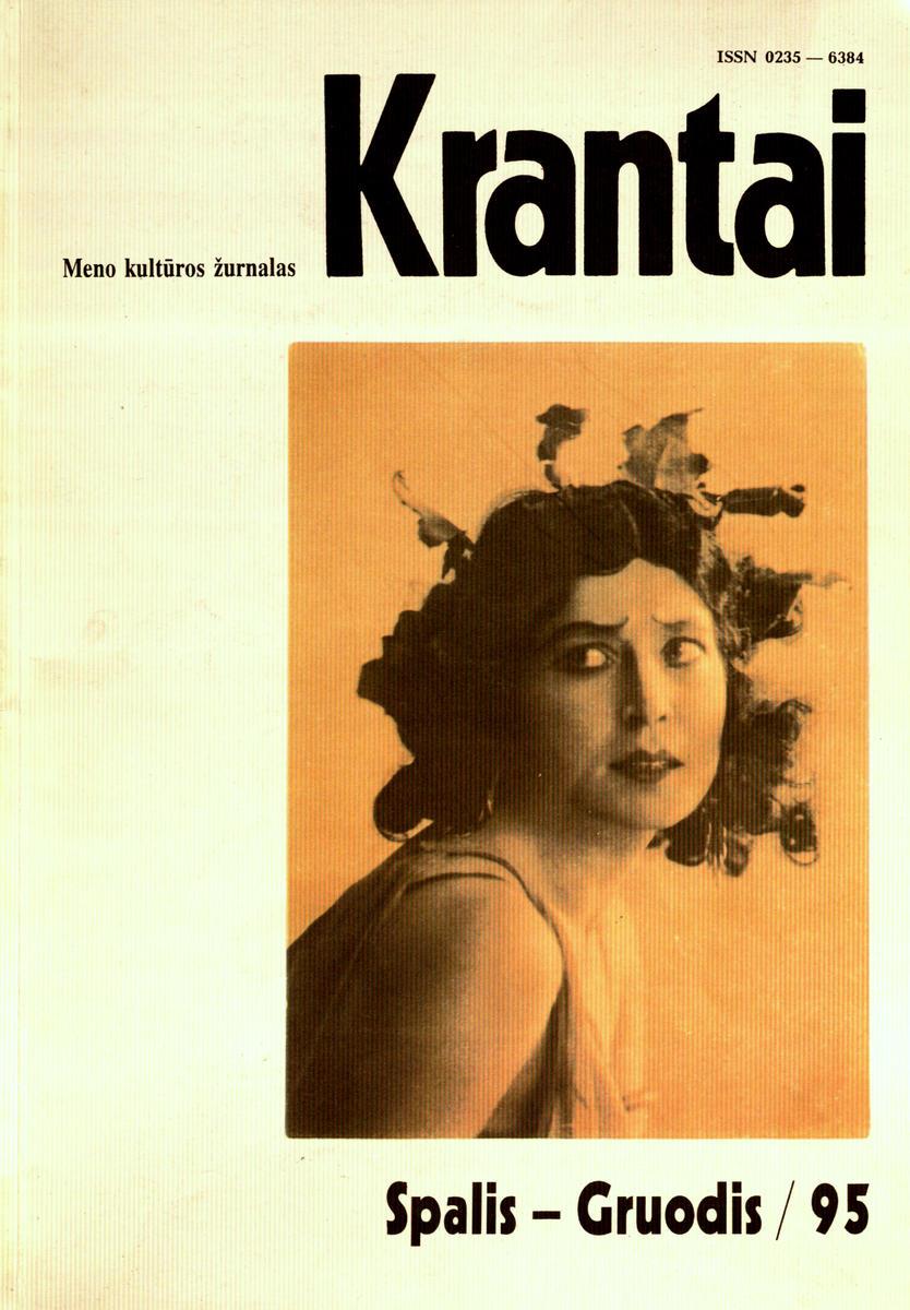 Krantai : meno kultūros žurnalas. - 1995, Nr. 10-12