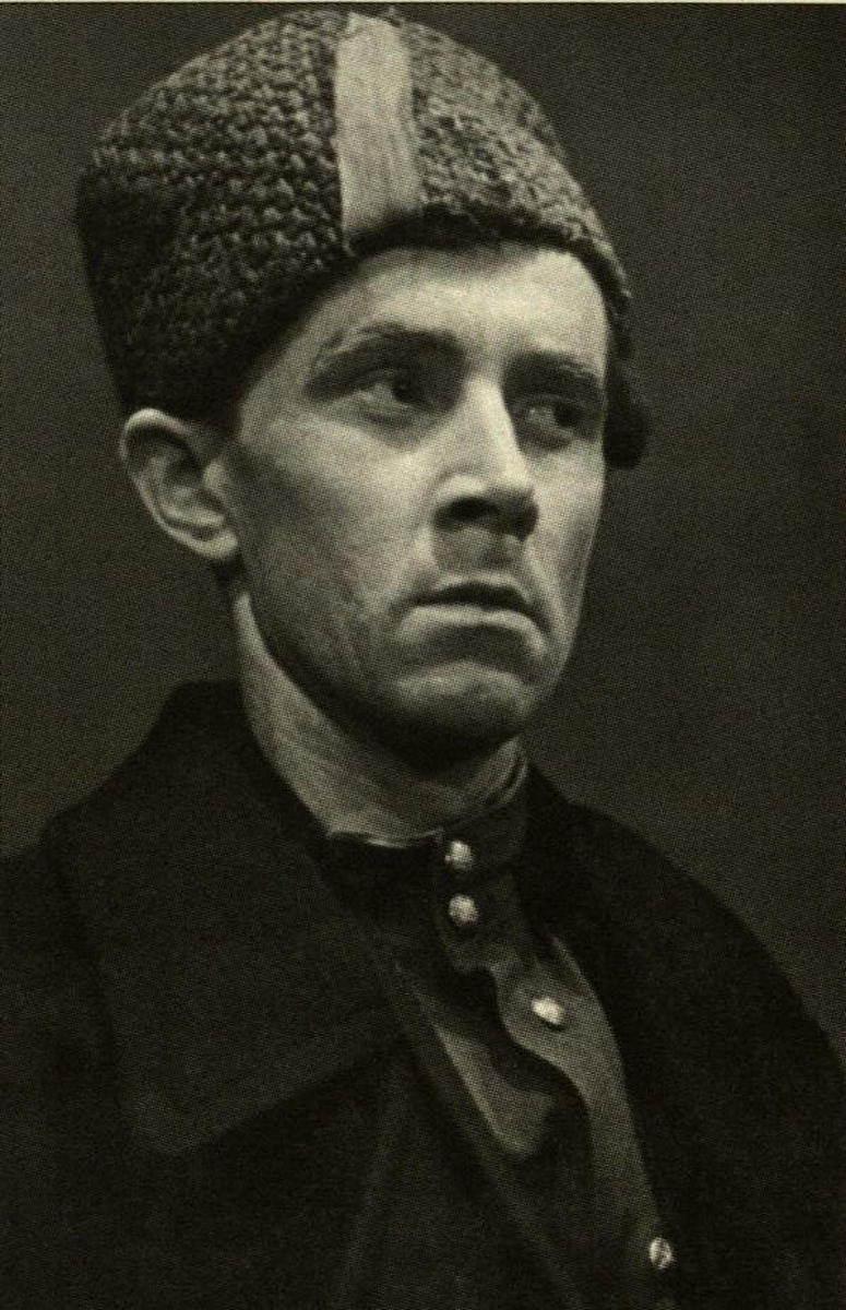 """Aktorius E. Ignatavičius diplominiame spektaklyje M. Svetlovo """"Po dvidešimties metų"""". 1960 m."""
