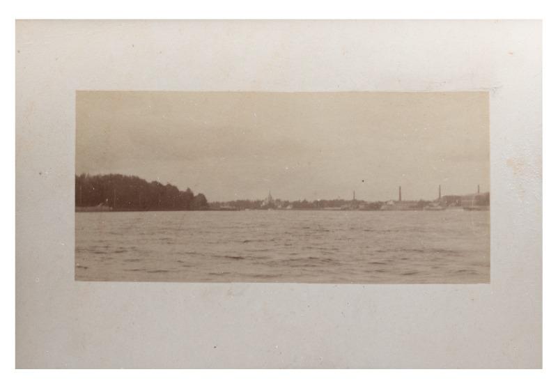 Baltijos jūra ties Palanga, maždaug XIX a. pab.–XX a. pradžia.