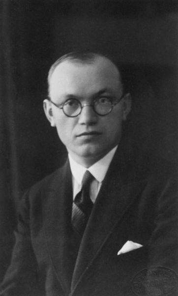 Lietuvos pasiuntinys Prancūzijoje Petras Klimas. 1930 m.