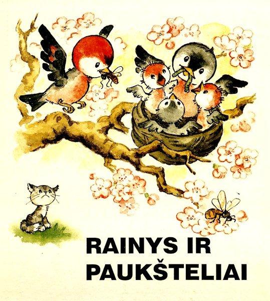 Rainys ir paukšteliai. Vilnius : Vyturys, 1998.  1 lankstinys, 10 p.