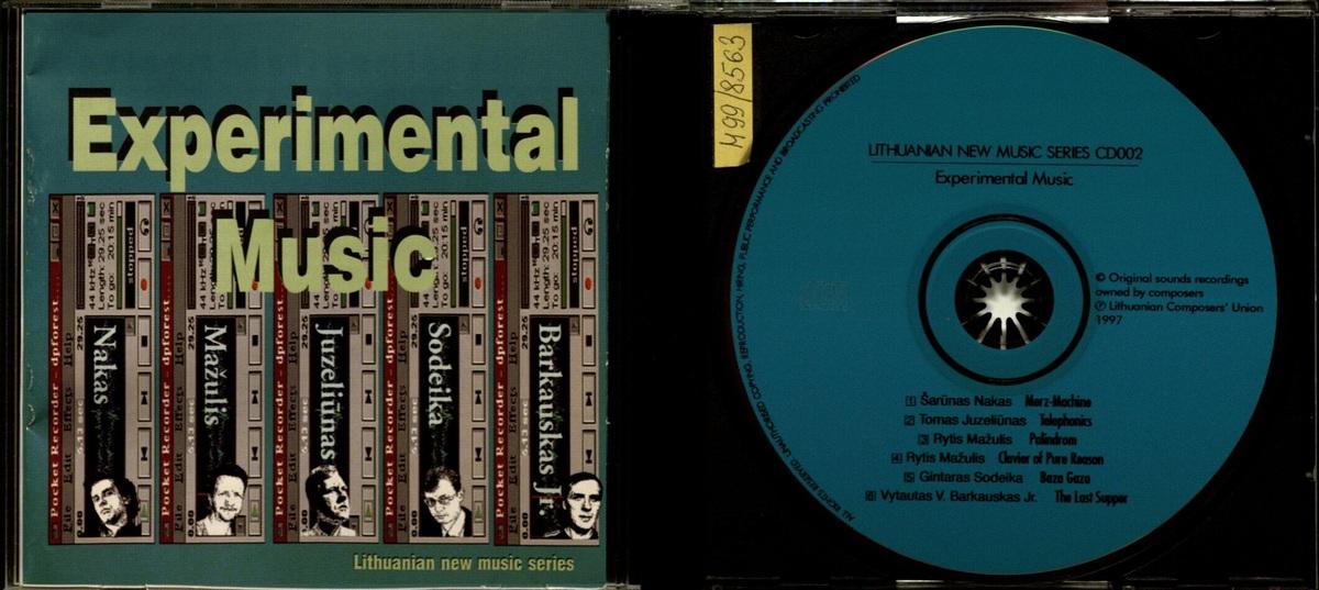 Experimental Music [Garso įrašas] : [elektroakustinės muzikos albumas]