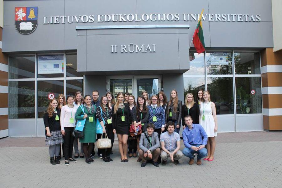 <br /> I tarptautinės mokslinės studentų lituanistų stovyklos dalyviai.<br /> <br />