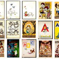 Iliustracijų ir knygų viršelių eskizai