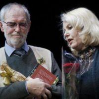 R. Adomaičio 75-metis. R. Adomaitis ir Vaiva Mainelytė.jpg