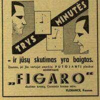 """""""Figaro"""" - ir Jūsų skurimasis  yra baigtas!"""